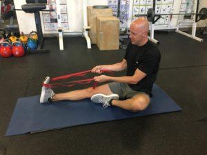Calf Strain - Strap Stretch