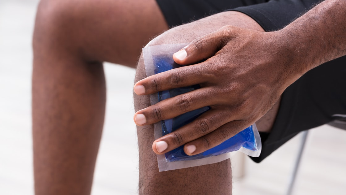 Icing a Knee Injury