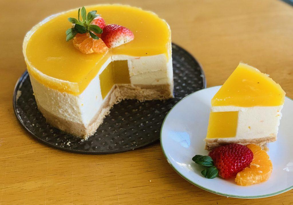 orange souffle cake