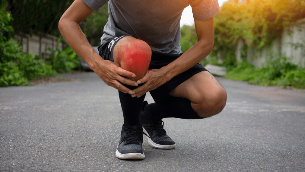 Man with Painful Runner's Knee