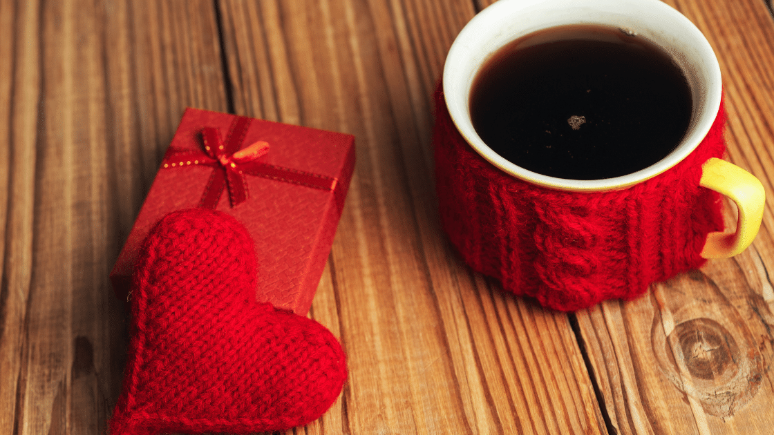 Coffee at home for a safe and healthy valentine's day