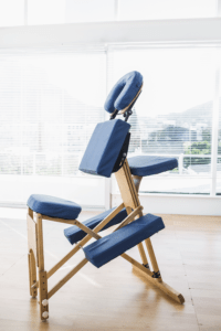 chair used for corporate chair massage
